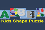 Kids Shape Puzzle is an educational and entertaining puzzle game for preschoolers featuring beautiful graphics.