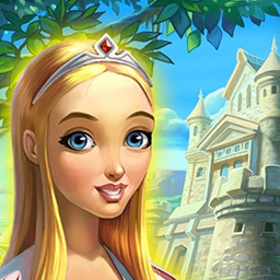 Kingdom's Heyday - Crumbling shacks, dirty streets, no food - your Kingdom needs you!  Help the princess save your homeland in the time management game Kingdom's Heyday. - logo