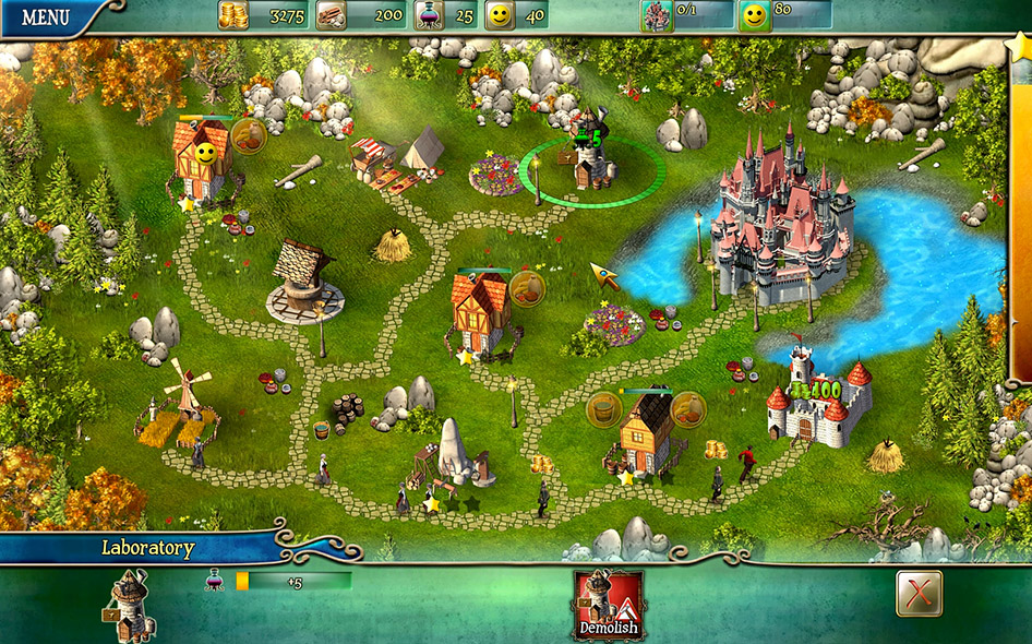 Kingdom Tales screen shot