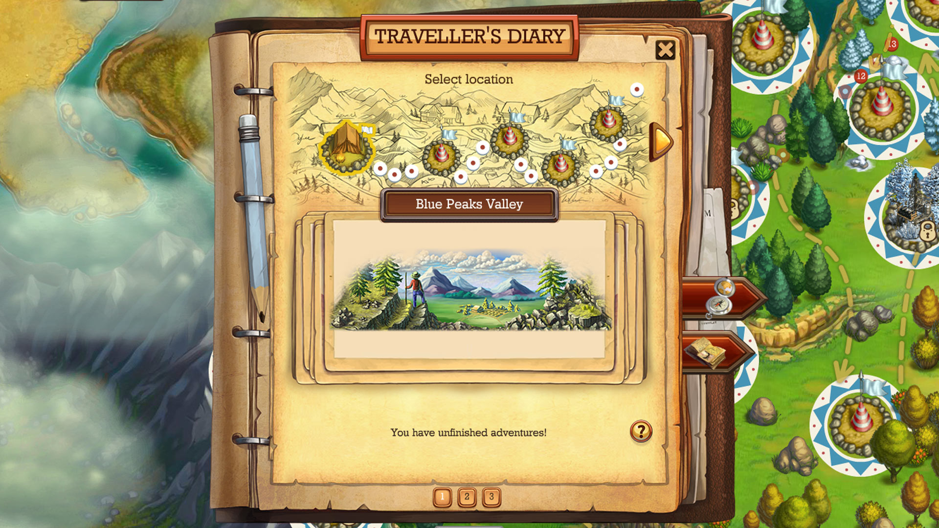 Klondike the lost expedition screen shot