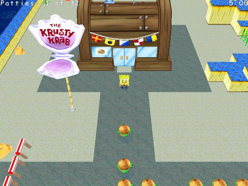 SpongeBob SquarePants Krabby Quest screen shot