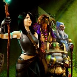 Kuros - Restore balance to Kuros, a hidden object adventure game in a new world! - logo