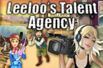 Hand out scripts, film screen tests, and more, in Leelo's Talent Agency!