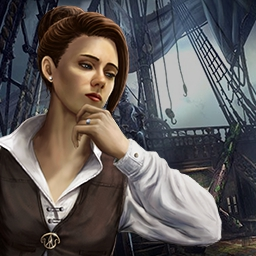 Left in the Dark: No One on Board - You must solve the case of a mysterious cursed ship in the hidden object game Left in the Dark: No One on Board. - logo