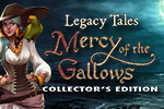 The ghost of a sad, young woman needs your help in the hidden object game Legacy Tales: Mercy of the Gallows Collector's Edition.