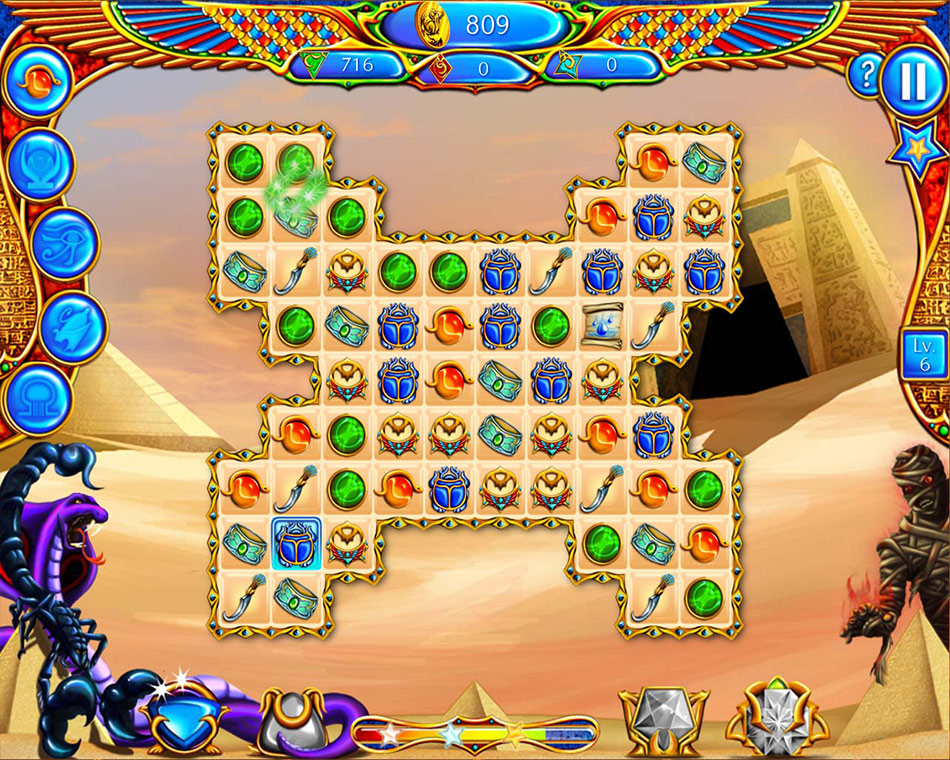 Legend of Egypt: Jewels of the Gods screen shot