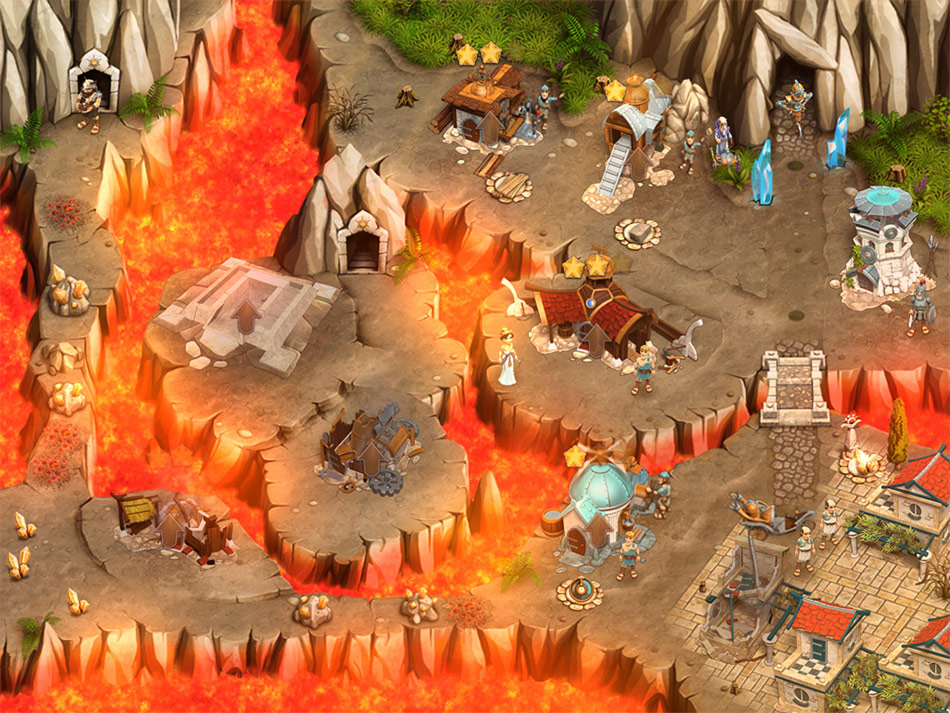 Legends of Atlantis: Exodus screen shot