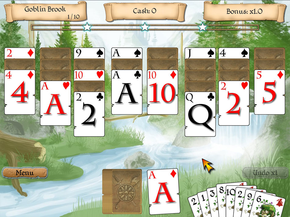 Legends of Solitaire screen shot