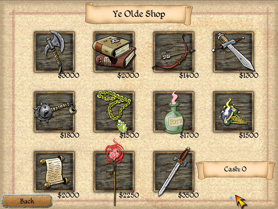 Legends of Solitaire screen shot