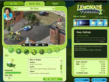 Lemonade Tycoon 2 screen shot