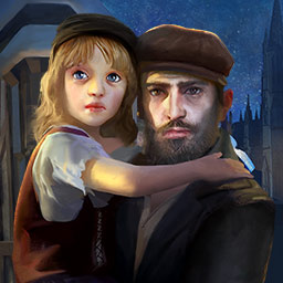 Les Miserables: Jean Valjean - Based on Victor Hugo's masterpiece, Les Miserables: Jean Valjean immerses you in this famous story by turning it into a hidden object game. - logo