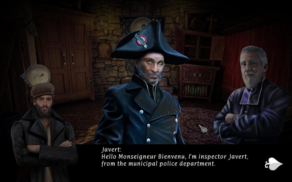 Les Miserables: Jean Valjean screen shot