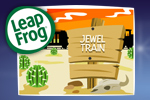 Hop on the Jewel Train! Solve puzzles as you move tracks to help your train reach the station in this fun game from LeapFrog.