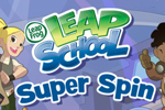Choose your track and run through math problems and more in LeapFrog LeapSchool Super Spin!