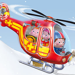 Little Boy: Roger's Helicopter - In Little Boy: Roger's Helicopter, an interactive story for preschoolers, your child can solve puzzles and fly with Roger on a rescue mission. - logo