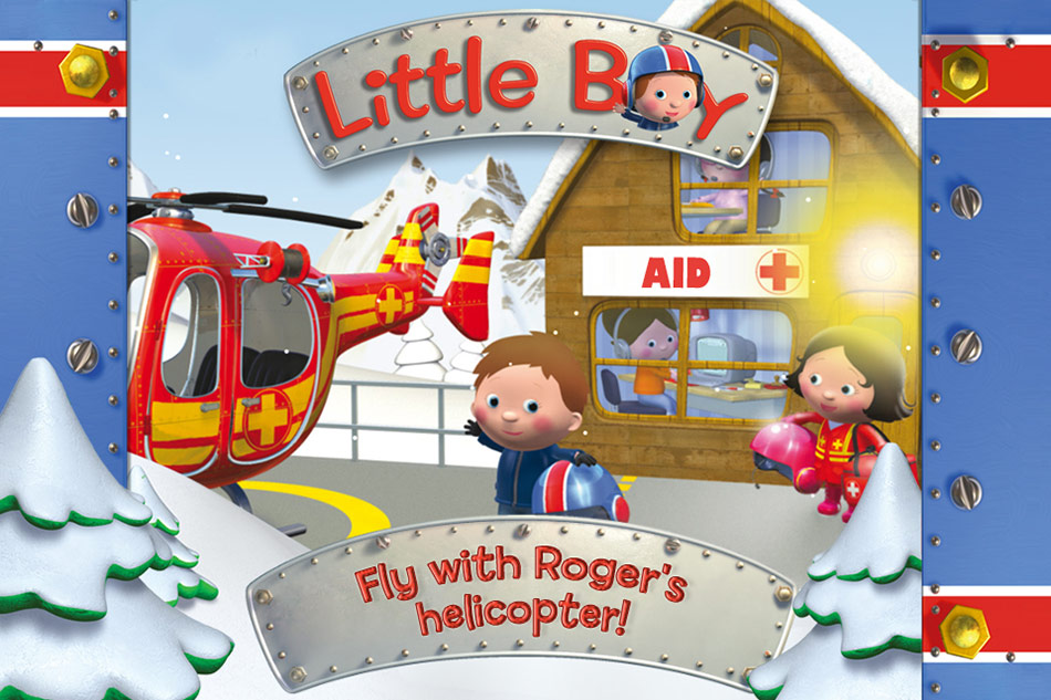 Little Boy: Roger's Helicopter screen shot