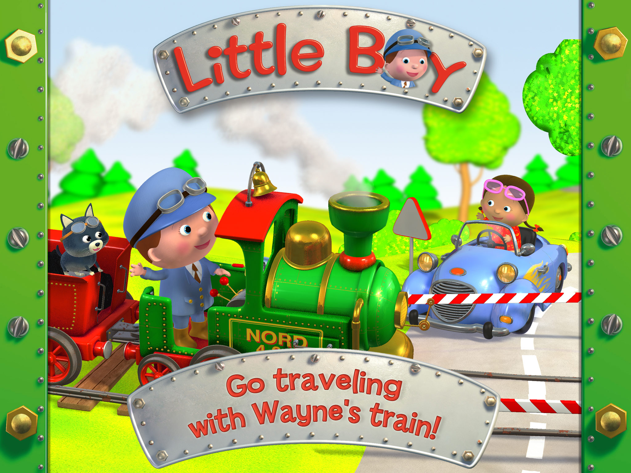 Little Boy: Wayne's Train screen shot