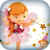 Little Girl: Mary Plays At Being A Fairy