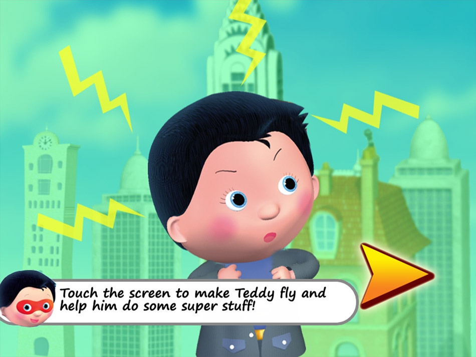 Little Hero: Super Hero screen shot