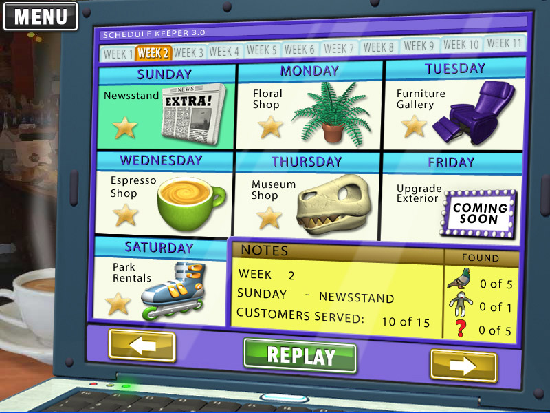 Little Shop - City Lights screen shot