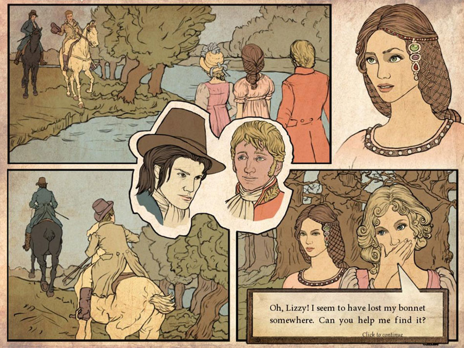 Live Novels Jane Austen's Pride and Prejudice screen shot