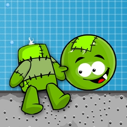 Lost Head - Let the good times - and the Franken-heads - roll in this physics-based puzzler! Play today! - logo