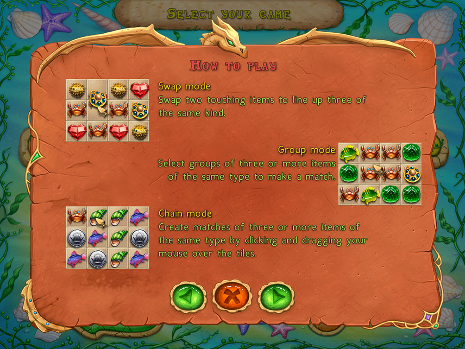 Lost in Reefs 2 screen shot