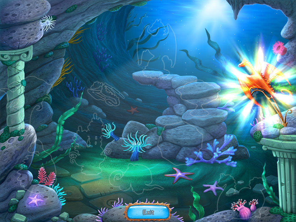 Lost in Reefs 2 screen shot