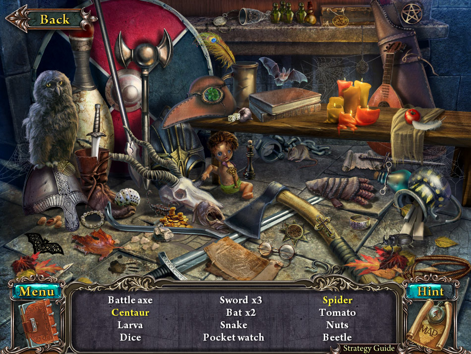 Lost Souls: Enchanted Paintings Collector's Edition screen shot