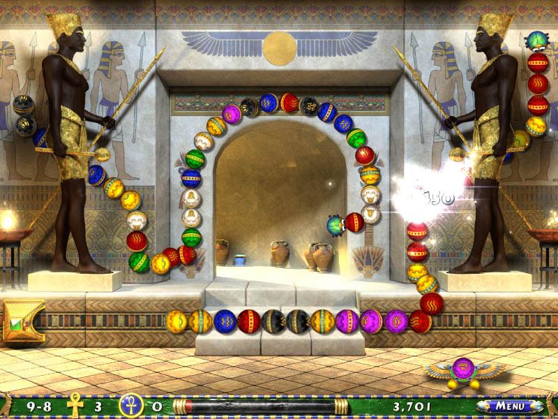 Luxor 2 screen shot