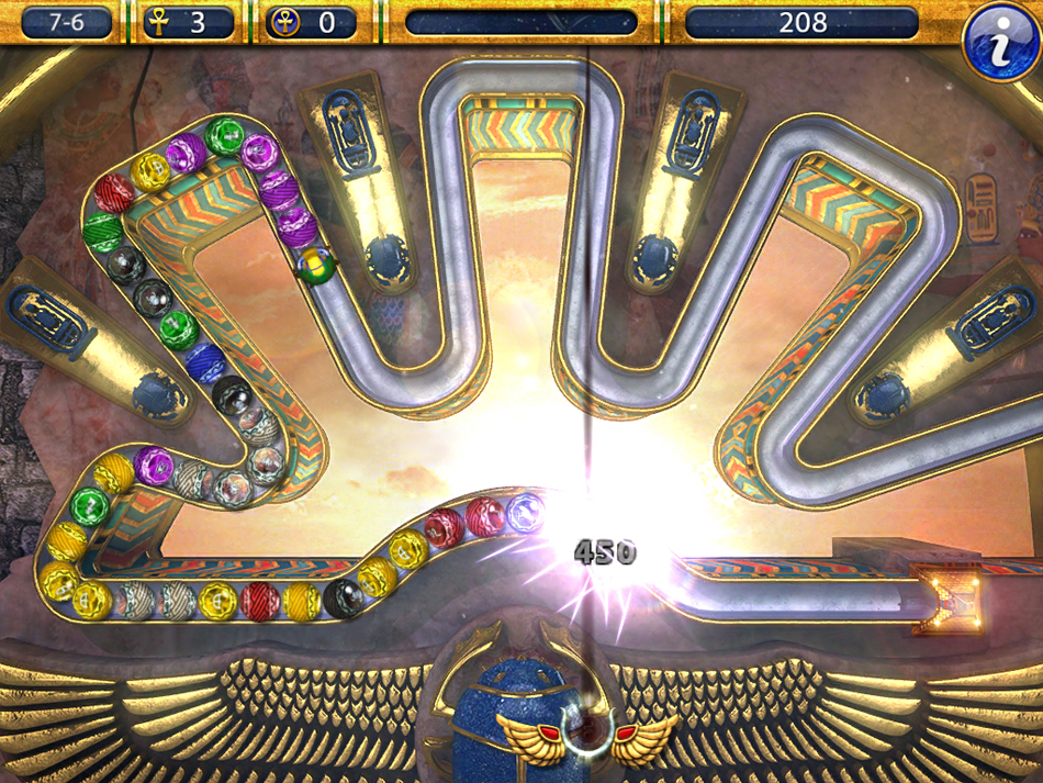 Luxor 2 HD screen shot