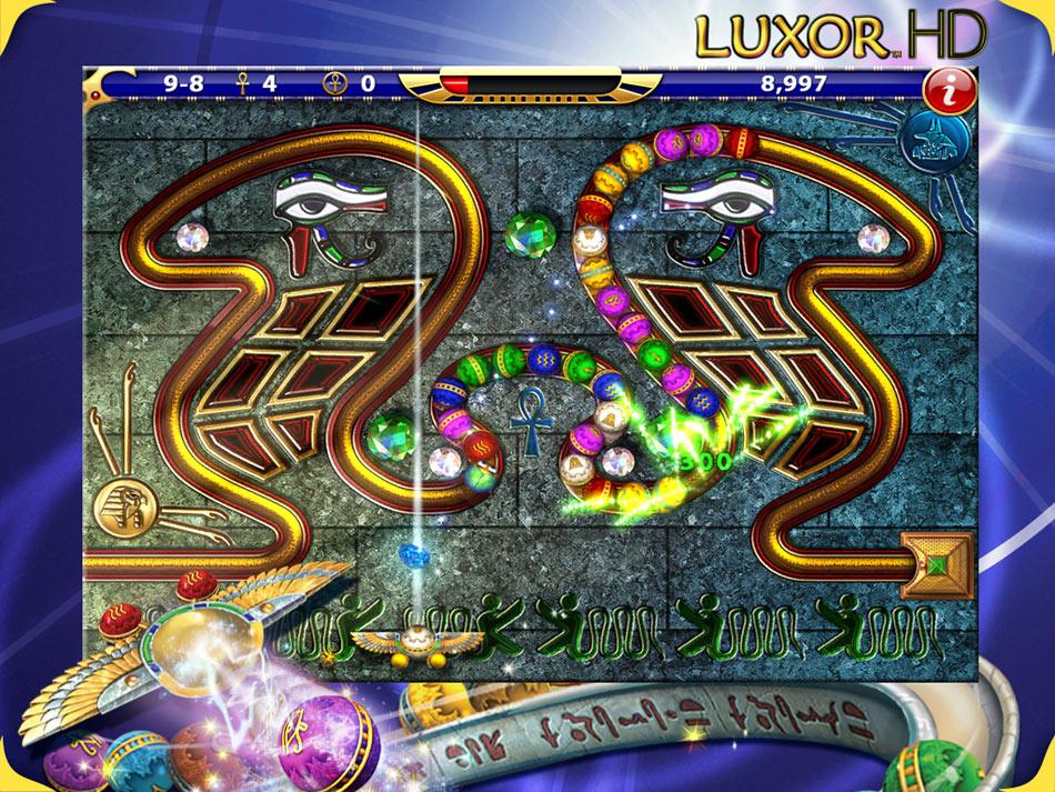 Luxor HD screen shot