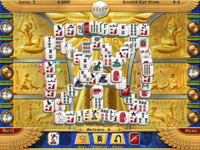 Luxor MahJong screen shot