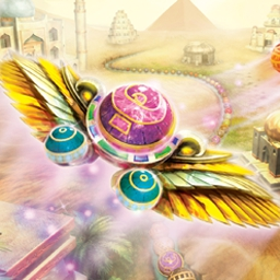 LUXOR - Quest for the Afterlife - Travel the silk road & recover artifacts in LUXOR: Quest for the Afterlife! - logo
