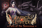 Improve your spells and unravel the story of the Sorceress in Magical Mysteries, an innovative and fast-paced puzzle game!