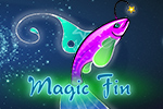 Create a fantastical fish friend in Magic Fin! Decorate a magical fish however you'd like - pick its tail shape, color and even add a hat! Play FREE!