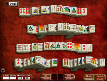 Mah Jong Adventures screen shot
