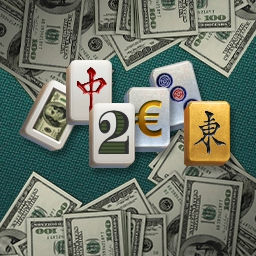 Mahjong Business Style - Play mahjong with the stock exchange!  With more than 100 levels and tons of trophies, Mahjong Business Style will make Wall Street fun! - logo