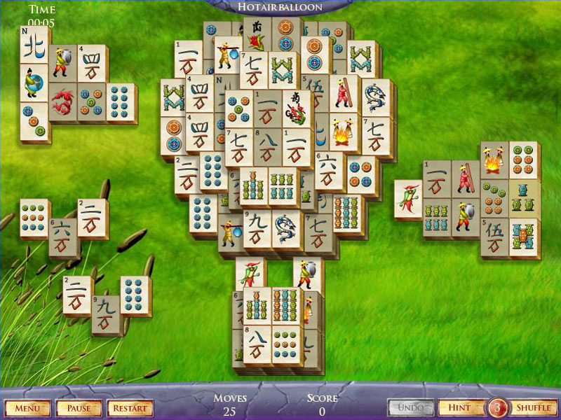 Mahjong Fortuna 2 Deluxe screen shot