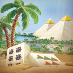 Mahjongg - Ancient Egypt - Explore Egypt by playing your favorite game in Mahjongg - Ancient Egypt! - logo