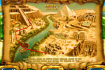 Screenshot of Mahjongg - Ancient Egypt