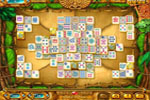 Screenshot of Mahjongg - Ancient Mayas
