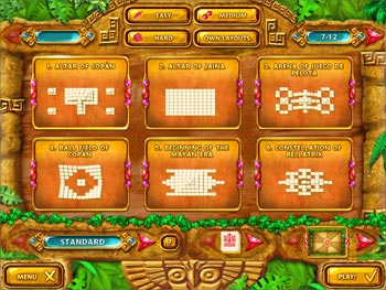 Mahjongg - Ancient Mayas screen shot