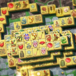 Mahjong Garden Deluxe - Mahjong Garden Deluxe is a simple and relaxing tile matching game. Try all three game modes: Traditional, Garden and Tower! - logo