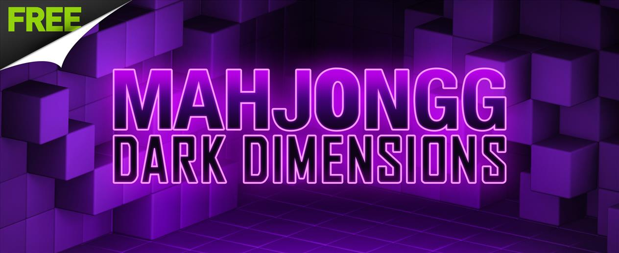 Mahjongg Dark Dimensions - Rotate the cube to find mahjong matches! - image
