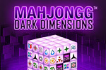 Mahjongg Dark Dimensions is 3D mahjong with new features and puzzles!