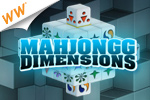 Get ready for a new dimension of fun with this 3-D version of the tile-matching classic! Play the Tournament edition of Mahjongg Dimensions today!