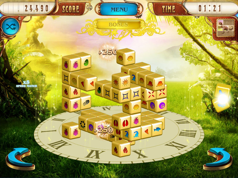 Mahjongg Dimensions Deluxe: Tiles in Time screen shot