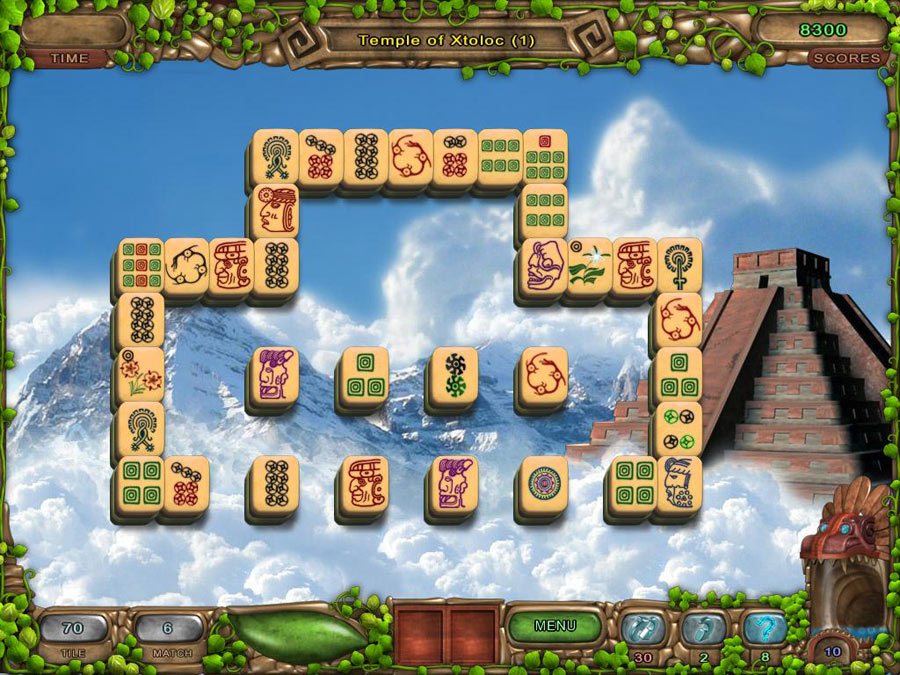 Mahjong: Legacy of Toltecs screen shot