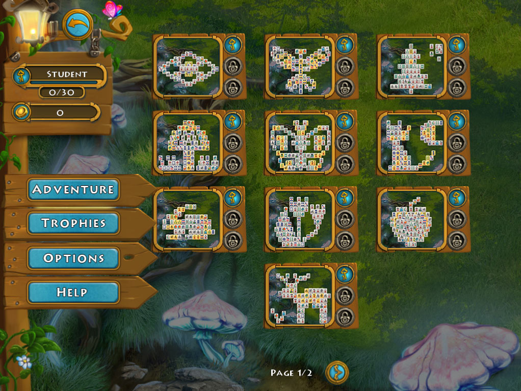 Mahjong Magic Journey screen shot